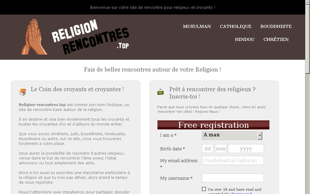 Sites de rencontres catholiques Inde